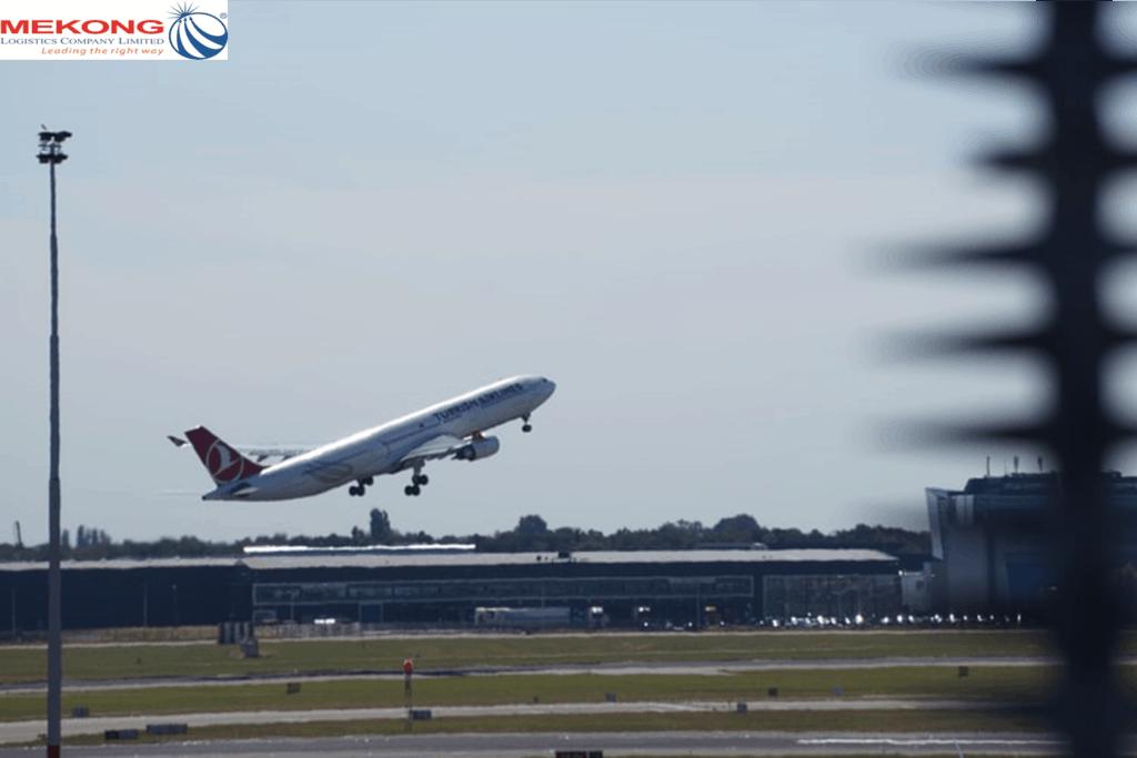 tuyến vận chuyển hàng không mekong logistics xuyên suốt Bắc - Trung - Nam