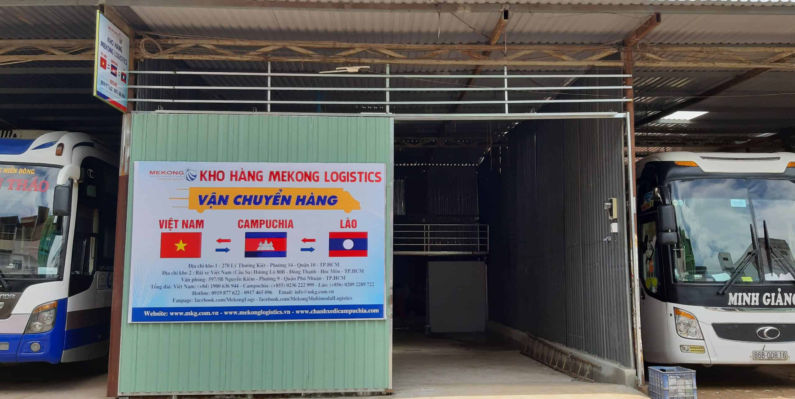 Mekong Logistics warehouse in the heart of Ho Chi Minh City