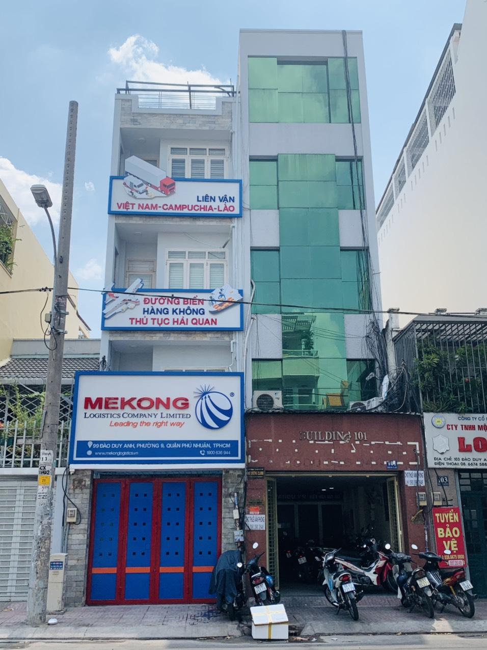 Văn phòng Mekong Logistics tại mặt tiền 99 Đào Duy Anh, P.9, Q. Phú Nhuận, HCM