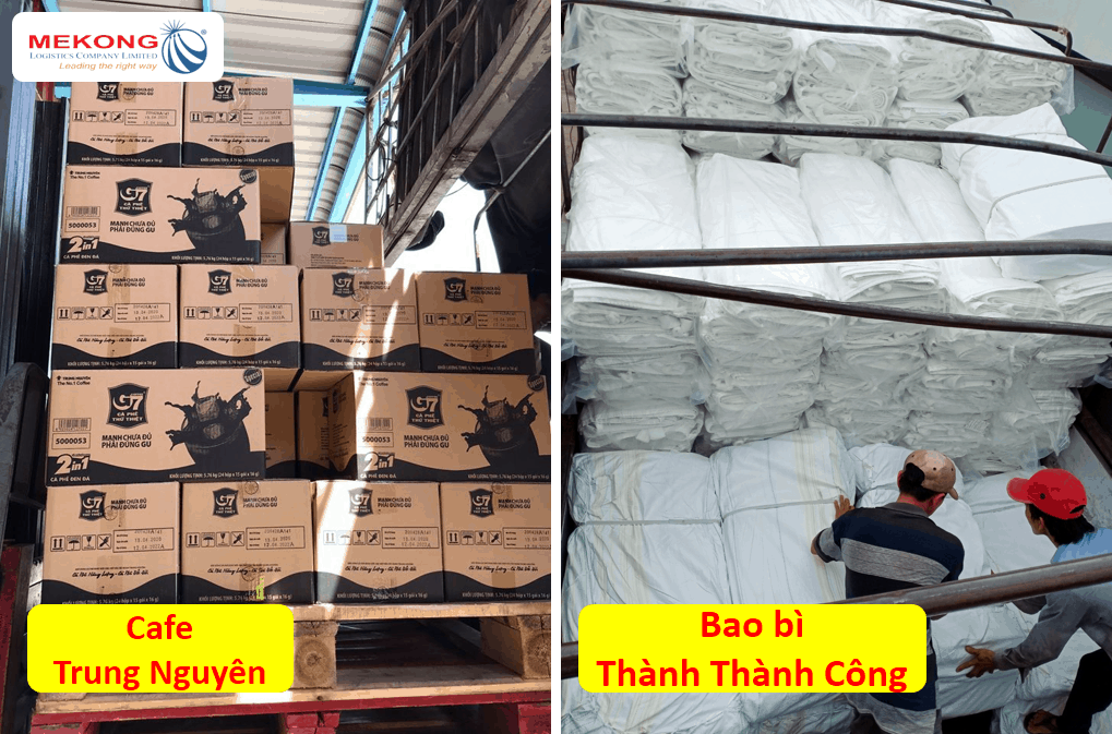 Mekong Logistics là đối tác của các tập đoàn lớn như Trung Nguyên, Thành Thành Công Group