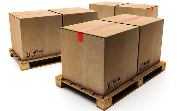 Pallet rất thông dụng trong đóng gói, vận chuyển hàng hóa