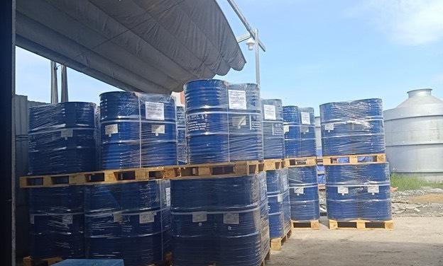 Hàng hóa chất chuyển đi Campuchia theo hình thức tiểu ngạch